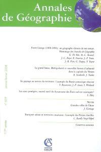 Annales de géographie. n° 659