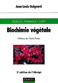 Biochimie végétale