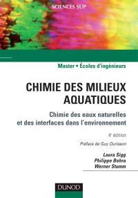 Chimie des milieux aquatiques