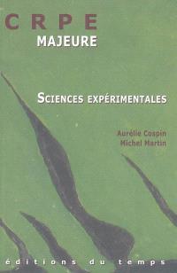CRPE : l'épreuve majeure de sciences expérimentales