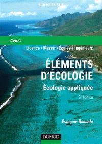 Eléments d'écologie : écologie appliquée