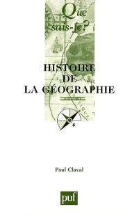 Histoire de la géographie