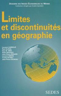 Limites et discontinuités en géographie