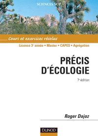 Précis d'écologie : cours et exercices résolus