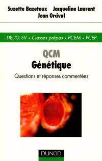 QCM génétique : DEUG SV, classes prépas, PCEM, PCEP