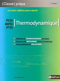 Thermodynamique : PCSI, MPSI, PTSI
