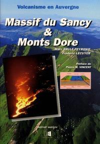 Volcanisme en Auvergne : massif du Sancy et monts Dore