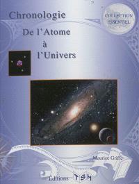 Chronologie de l'atome à l'univers