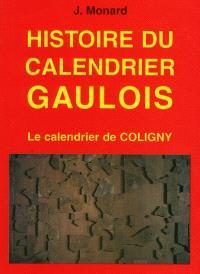Histoire du calendrier gaulois : le calendrier de Coligny
