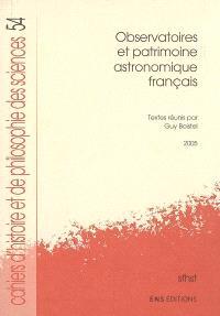Observatoires et patrimoine astronomique français