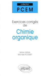 Chimie organique : exercices corrigés