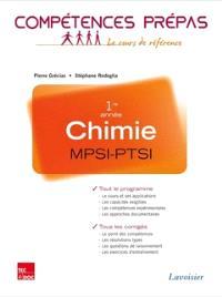 Chimie MPSI-PTSI, 1re année : tout le programme, tous les corrigés : nouveaux programmes 2013