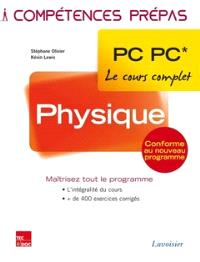 Physique PC, PC*,  2e année : le cours complet