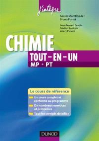 Chimie : tout-en-un, 2e année MP-PT : cours et exercices corrigés