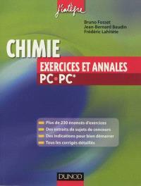 Chimie PC-PC* : exercices et annales