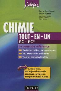 Chimie tout-en-un PC, PC* : le cours de référence