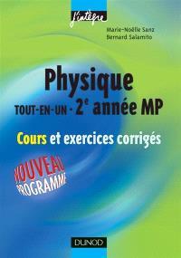 Physique tout en un MP : cours et exercices corrigés