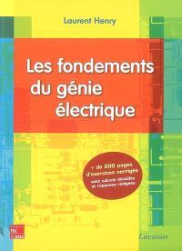 Les fondements du génie électrique