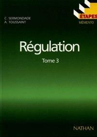 Boucles complexes, régulation discontinue, études techniques