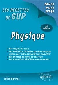 Physique : classes prépas MPSI, PCSI, PTSI