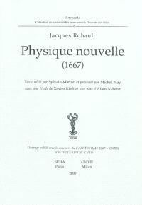 Physique nouvelle