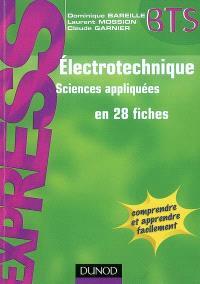 Electrotechnique : sciences appliquées en 28 fiches