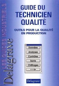 Guide du technicien qualité : outils pour la qualité en production
