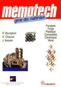 Mémotech génie des matériaux