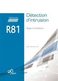Détection d'intrusion : règle d'installation