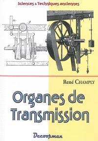 Organes de transmission