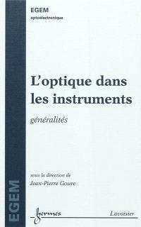 L'optique dans les instruments : généralités