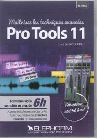 Maîtrisez les techniques avancées Pro Tools 11
