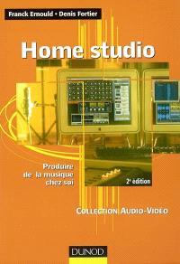 Home studio : produire de la musique chez soi