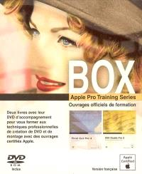 Box Apple pro training series : ouvrages officiels de formation