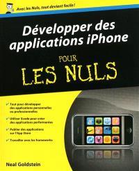 Développer des applications iPhone pour les nuls