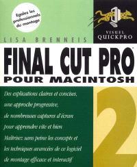 Final Cut Pro 2 : pour Macintosh
