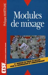Modules de mixage