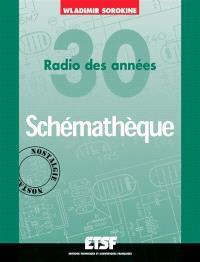 Schémathèque : radio des années 30