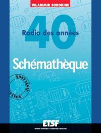 Schémathèque : radio des années 40