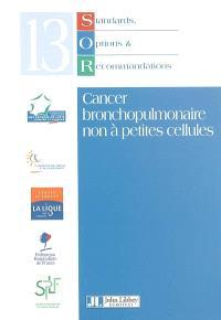 Cancer bronchopulmonaire non à petites cellules
