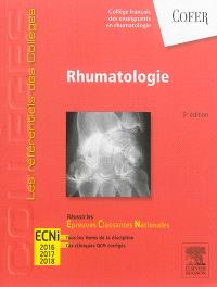 Rhumatologie : réussir les épreuves classantes nationales