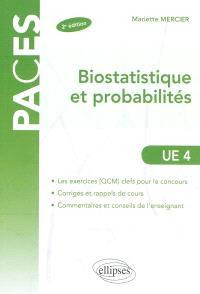 Biostatistique et probabilités : UE 4