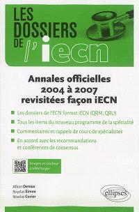 Annales officielles 2004 à 2007 revisitées façon iECN