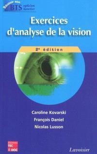 Exercices d'analyse de la vision