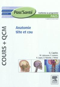 Anatomie tête et cou : PAES