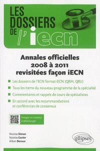 Annales officielles 2008 à 2011 revisitées façon iECN