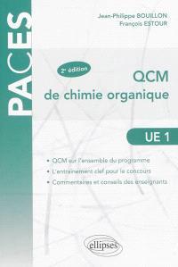 QCM de chimie organique, UE1