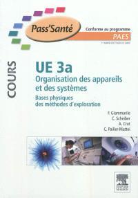 UE 3a, organisation des appareils et systèmes, bases physiques des méthodes d'exploration : conforme au programme PAES
