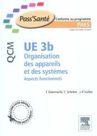 UE 3b Organisation des appareils et des systèmes : aspects fonctionnels