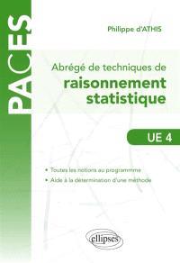 Abrégé de techniques de raisonnement statistique, UE4